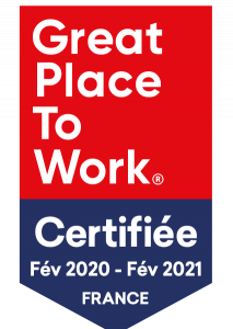 Nous sommes certifiés Great Place To Work® 2020 !